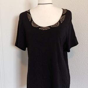 NWOT, Style & Co, black top
